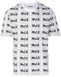McQ - T-Shirt mit Logo - Lyst