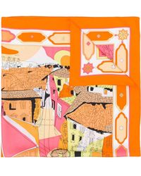 Emilio Pucci - Florence-print Scarf - Lyst