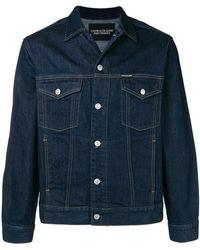 Calvin Klein - Warhol Portrait Trucker Jacket - Lyst