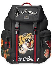 Gucci - Techpack With Embroidery - Lyst