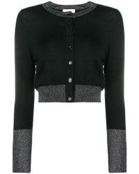 Snobby Sheep - Cropped Cardigan - Lyst