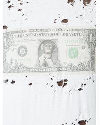 Loha Vete - Lohabux Dollar T-shirt - Lyst
