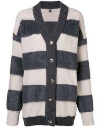 Eleventy - Striped Cardigan - Lyst