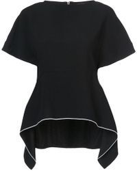 Proenza Schouler - Peplum Fitted Top - Lyst