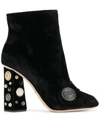 Dolce & Gabbana - Jackie Boots - Lyst