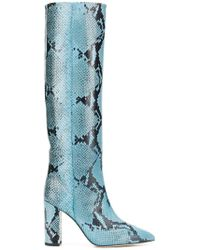 Paris Texas - Pointed Knee-length Boots - Lyst