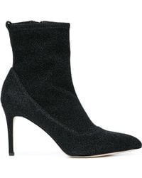 Sam Edelman - Pointed Toe Ankle Boots - Lyst