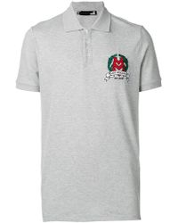 Love Moschino - Poloshirt mit Logo-Stickerei - Lyst