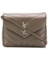 8348e57dac78 Lyst - Saint Laurent Université Leather Cross-Body Bag in Pink