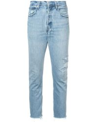 Icons - Distressed Skinny Jeans - Lyst