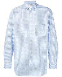 Comme des Garçons - Forever Diagonal Striped Shirt - Lyst