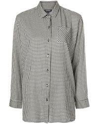 Woolrich - Fine Check Shirt - Lyst