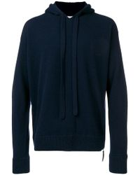Laneus - Hooded Jumper - Lyst