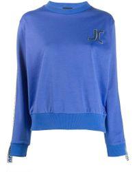 Just Cavalli - Embroidered Logo Sweatshirt - Lyst