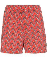 Missoni - Print Swim Shorts - Lyst