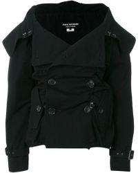 Junya Watanabe - Double Breasted Folded Collar Jacket - Lyst