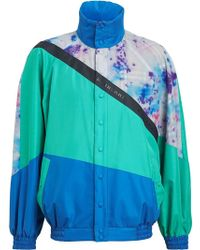 Burberry - Reversible Panelled Track Jacket - Lyst