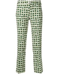 MeMe London   Slim-fit Printed Trousers   Lyst