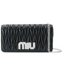 Miu Miu - Délice Miu Logo Bag - Lyst