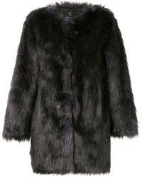 Unreal Fur Faux Fur Midnight Coat