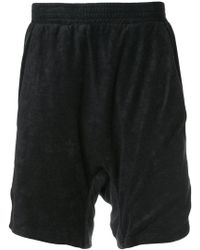Boris Bidjan Saberi 11 - Rear Printed Shorts - Lyst
