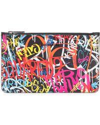 DSquared² - Graffiti Logo Wash Bag Small - Lyst