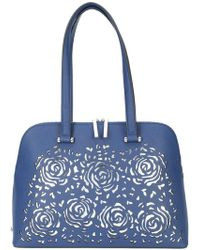 Christian Siriano - Floral Cut-out Tote Bag - Lyst