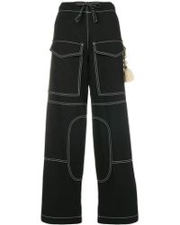 Hyein Seo - Work Trousers With Keyring - Lyst