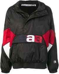 Alexander Wang オーバーサイズ ウインドブレーカー - ブラック