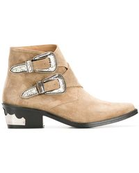 Toga Pulla - Double Buckle Boots - Lyst