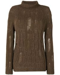 Damir Doma - Distressed Jumper - Lyst