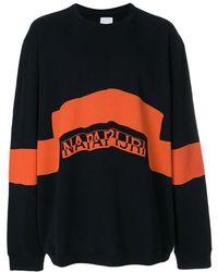 Martine Rose - Logo Print Sweatshirt - Lyst