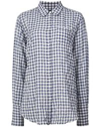 Nili Lotan - Checked Button-down Shirt - Lyst