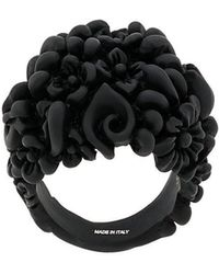 Ferragamo - Floral Finger Ring - Lyst