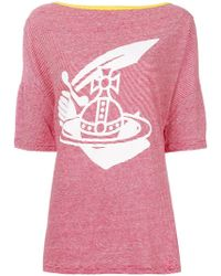 Vivienne Westwood Anglomania - Printed T-shirt - Lyst