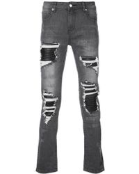 God's Masterful Children - Distressed Skinny Jeans - Lyst