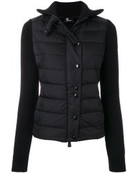 Moncler Grenoble - Buttoned Padded Jacket - Lyst