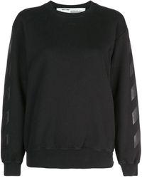 Off-White c/o Virgil Abloh - Diagonal Sweatshirt - Lyst