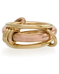 Spinelli Kilcollin - 18kt Yellow Gold Gemini Ring - Lyst