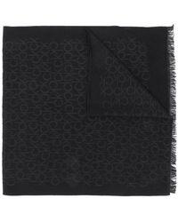 Calvin Klein - Monogram Jacquard Scarf - Lyst