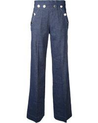 Erika Cavallini Semi Couture | Flared Jeans | Lyst