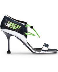 Prada - Elasticized Cords Sandals - Lyst