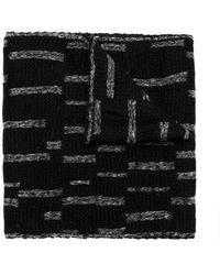 UMA   Raquel Davidowicz - Blurry Stripes Scarf - Lyst