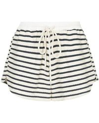 Bassike - Striped Shorts - Lyst