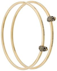 Alexander McQueen - Two-piece Skull Bracelet Set - Lyst