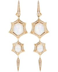 Stephen Webster | 'crystal Haze' Quartz And Diamond Drop Earrings | Lyst