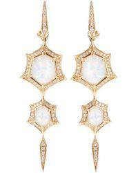 Stephen Webster | 'crystal Haze' Quartz And Diamond Drop Earrings | Lyst