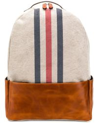 Eleventy - Stripe Front Backpack - Lyst