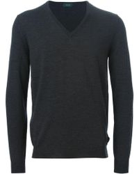 Zanone - V-neck Sweater - Lyst
