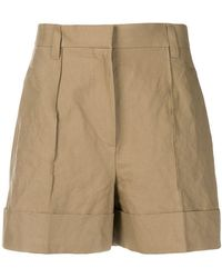 Brunello Cucinelli - Concealed Front Shorts - Lyst